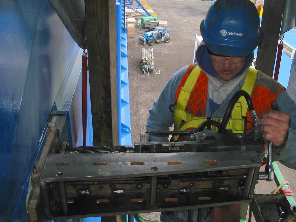 Portable Hydraulic Drilling