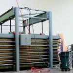 Door Press for walk-in cooler panels